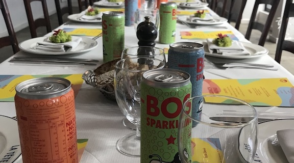 BOS Sparkling Ice Tea launch